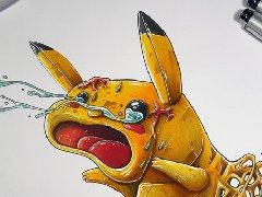 法国画师Tino Valentin的马克笔手绘作品欣赏