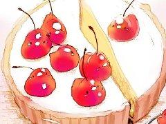日系插画师チャイ笔下的甜点插画赏析