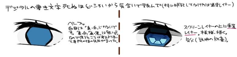 像水晶一样的眼睛要怎么画?