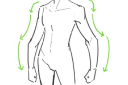 怎样才能画好手臂?画手臂有哪些技巧?