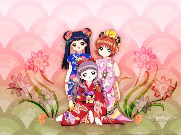 原画素材:日本传统服饰